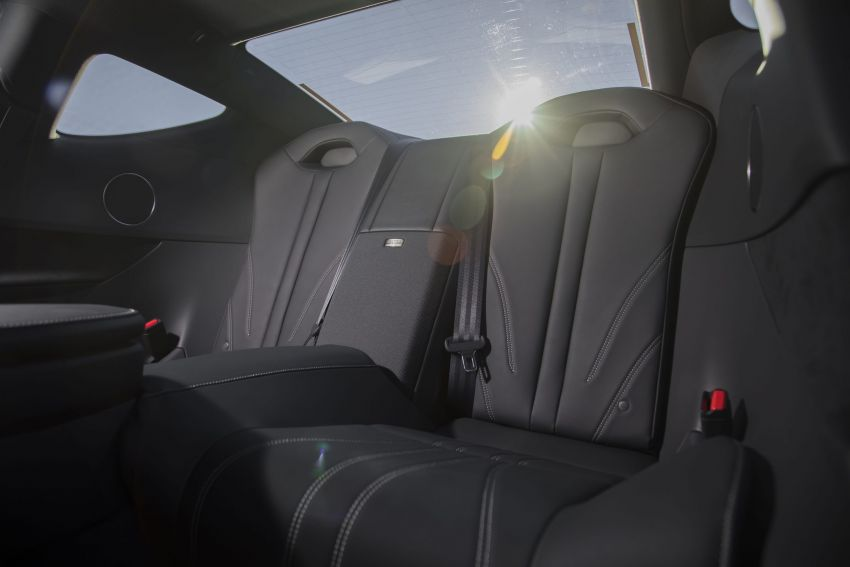 2021 Lexus LC gets suspension tweaks, 10 kg lighter Image #1104879