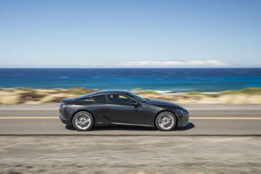 2021 Lexus LC gets suspension tweaks, 10 kg lighter Image #1104891