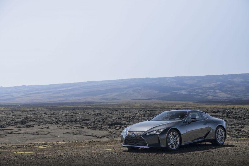 2021 Lexus LC gets suspension tweaks, 10 kg lighter Image #1104882