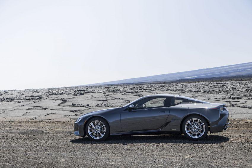 2021 Lexus LC gets suspension tweaks, 10 kg lighter Image #1104883