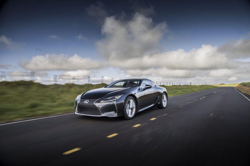 2021 Lexus LC gets suspension tweaks, 10 kg lighter Image #1104886