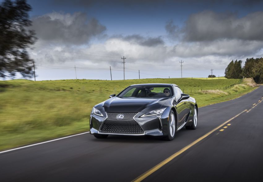2021 Lexus LC gets suspension tweaks, 10 kg lighter Image #1104888