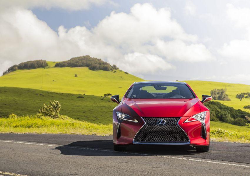 2021 Lexus LC gets suspension tweaks, 10 kg lighter Image #1104843