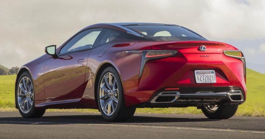 2021 Lexus LC gets suspension tweaks, 10 kg lighter Image #1104844