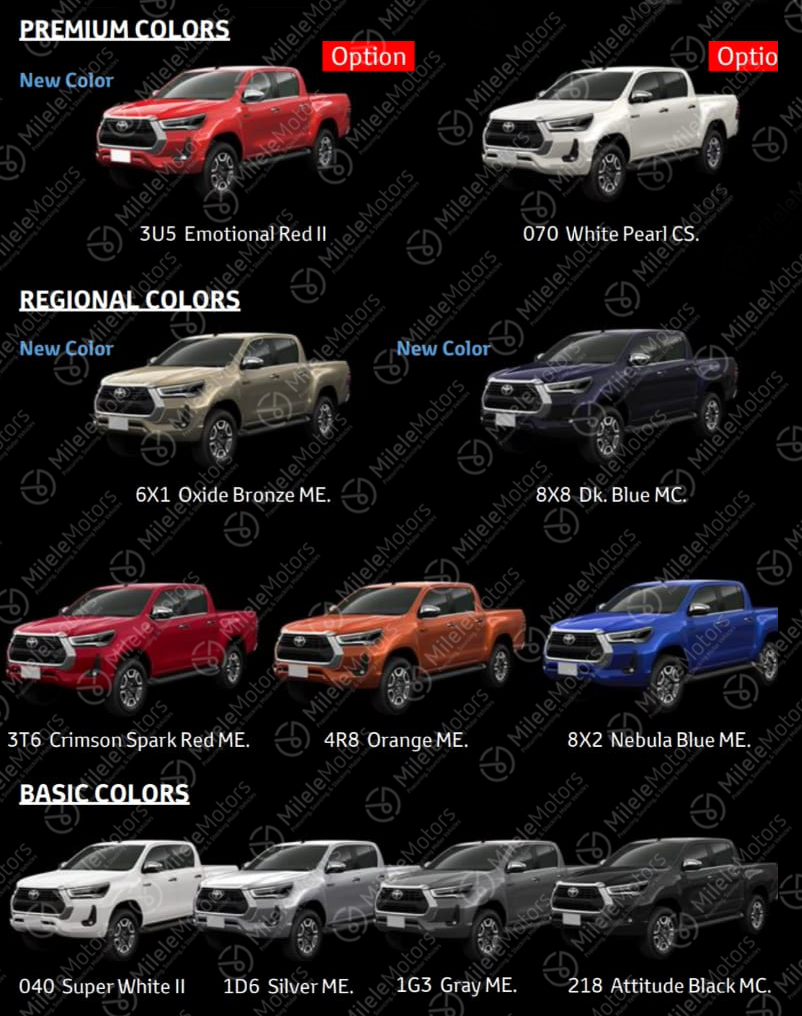 2021 Toyota Hilux facelift leaked with major redesign Image #1111260