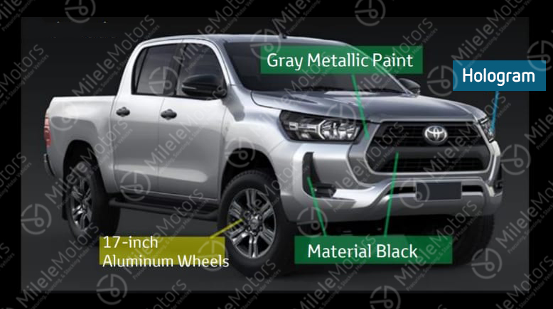 2021 Toyota Hilux facelift leaked with major redesign Image #1111262