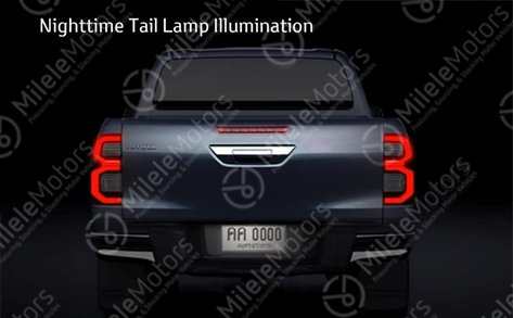 2021 Toyota Hilux facelift leaked with major redesign Image #1111263