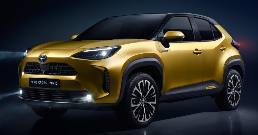 2021 Toyota Yaris Cross debuts – new B-segment SUV with 1.5 litre hybrid powertrain, Toyota Safety Sense Image #1110738