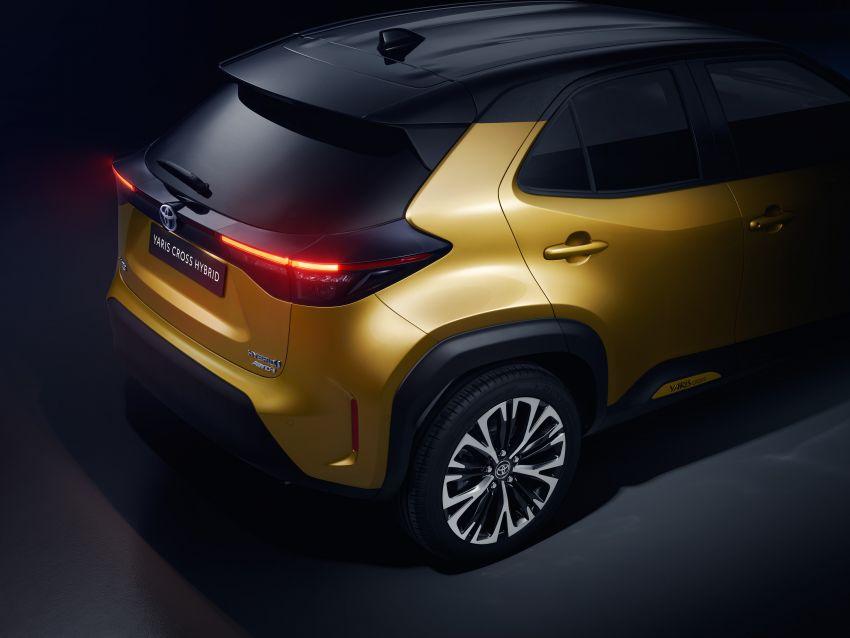 2021 Toyota Yaris Cross debuts – new B-segment SUV with 1.5 litre hybrid powertrain, Toyota Safety Sense Image #1110749