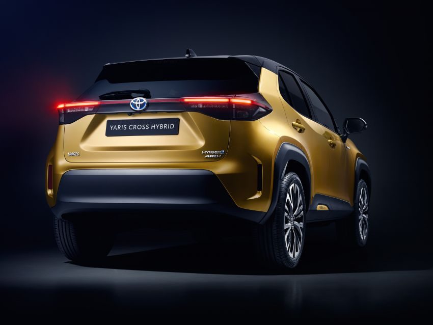 2021 Toyota Yaris Cross debuts – new B-segment SUV with 1.5 litre hybrid powertrain, Toyota Safety Sense Image #1110750