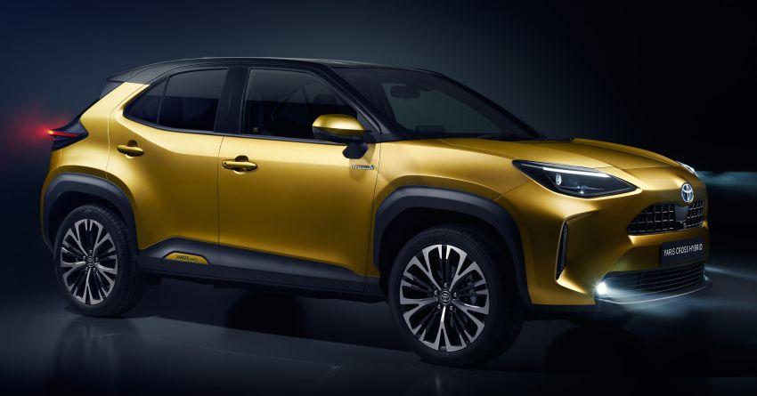 2021 Toyota Yaris Cross debuts – new B-segment SUV with 1.5 litre hybrid powertrain, Toyota Safety Sense Image #1110739