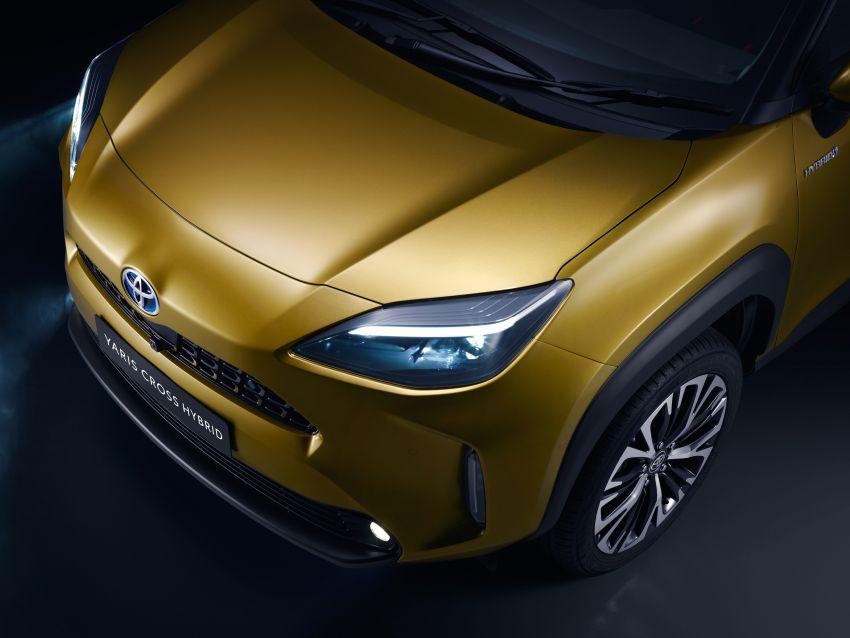 2021 Toyota Yaris Cross debuts – new B-segment SUV with 1.5 litre hybrid powertrain, Toyota Safety Sense Image #1110744