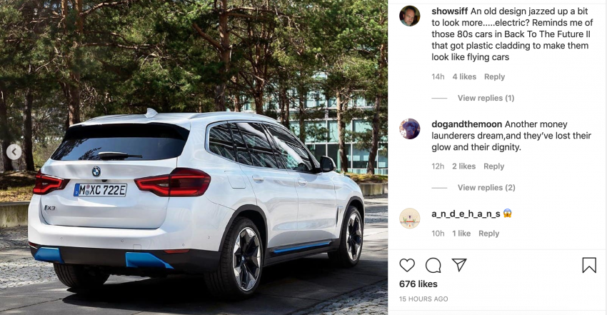 BMW iX3 – official images of new electric SUV leaked Image #1112169