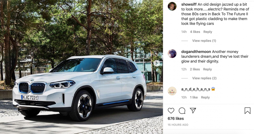 BMW iX3 – official images of new electric SUV leaked Image #1112170