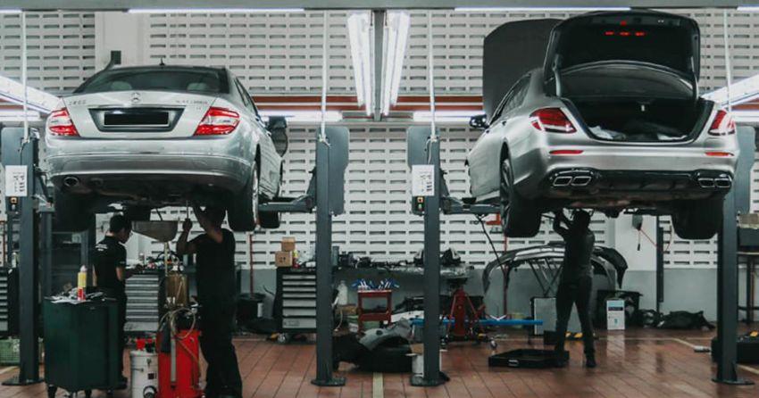 Pusat servis Mercedes-Benz Cycle & Carriage Bintang kembali dibuka untuk yang telah membuat temu janji Image #1109858
