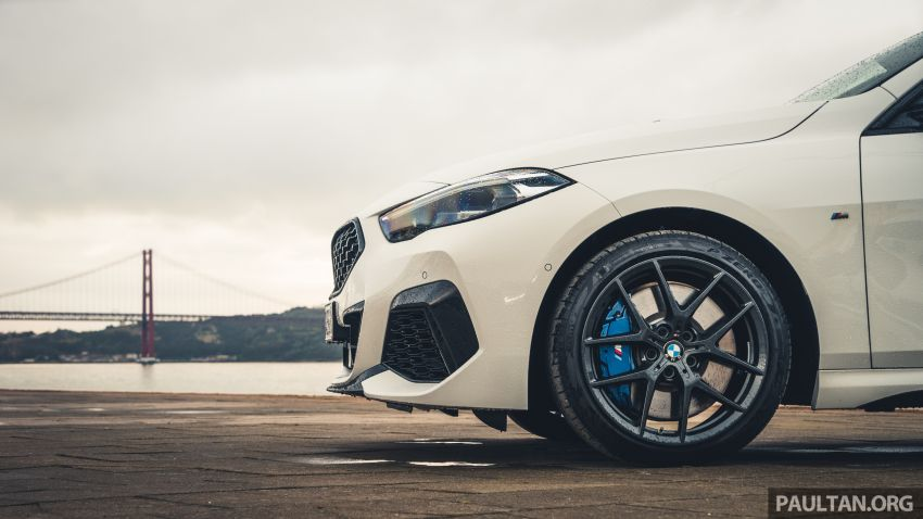 DRIVEN: F44 BMW 2 Series Gran Coupé in Lisbon, 218i and M235i – a slightly compromised bag of good traits Image #1106197