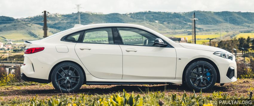DRIVEN: F44 BMW 2 Series Gran Coupé in Lisbon, 218i and M235i – a slightly compromised bag of good traits Image #1106209