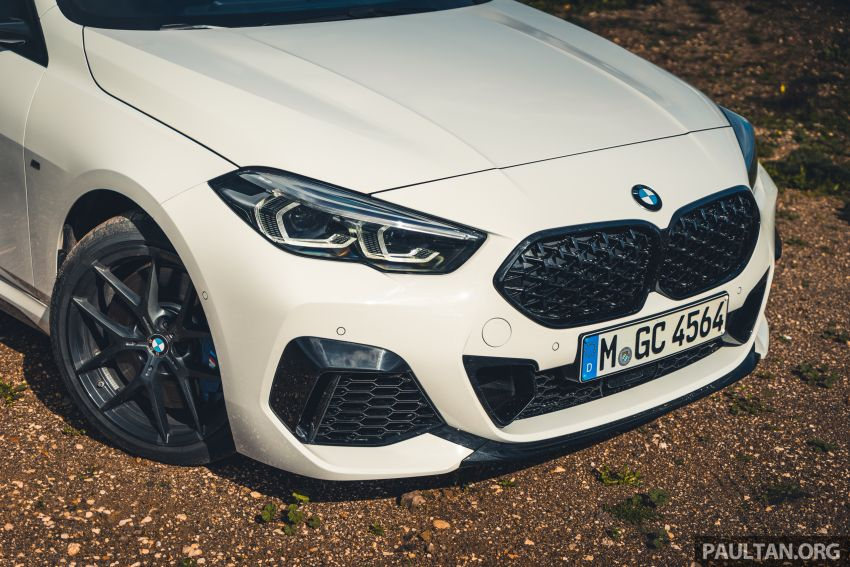 DRIVEN: F44 BMW 2 Series Gran Coupé in Lisbon, 218i and M235i – a slightly compromised bag of good traits Image #1106210