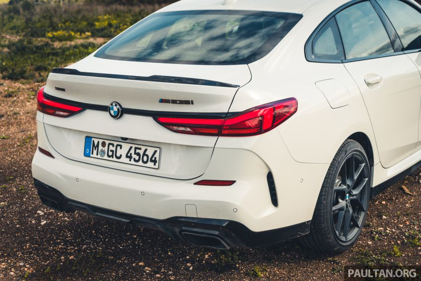 DRIVEN: F44 BMW 2 Series Gran Coupé in Lisbon, 218i and M235i – a slightly compromised bag of good traits Image #1106218