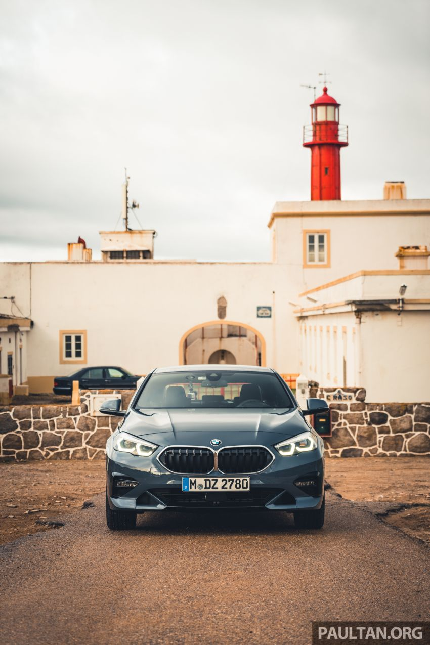 DRIVEN: F44 BMW 2 Series Gran Coupé in Lisbon, 218i and M235i – a slightly compromised bag of good traits Image #1106200