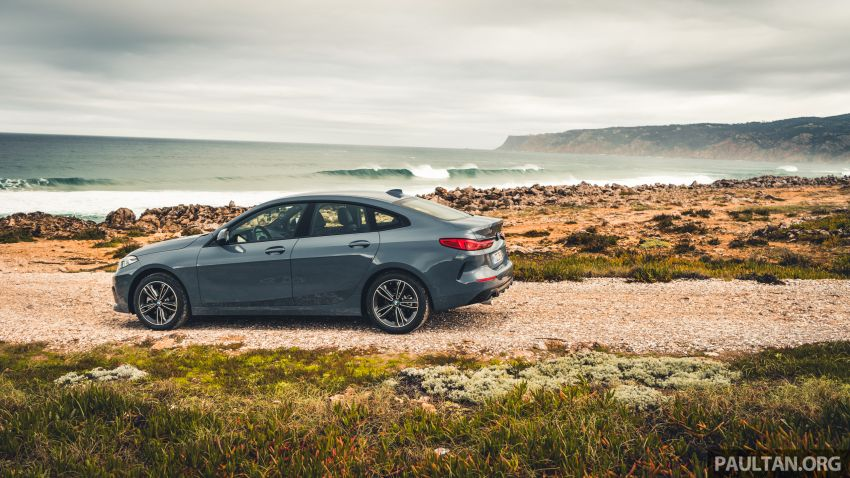 DRIVEN: F44 BMW 2 Series Gran Coupé in Lisbon, 218i and M235i – a slightly compromised bag of good traits Image #1106204