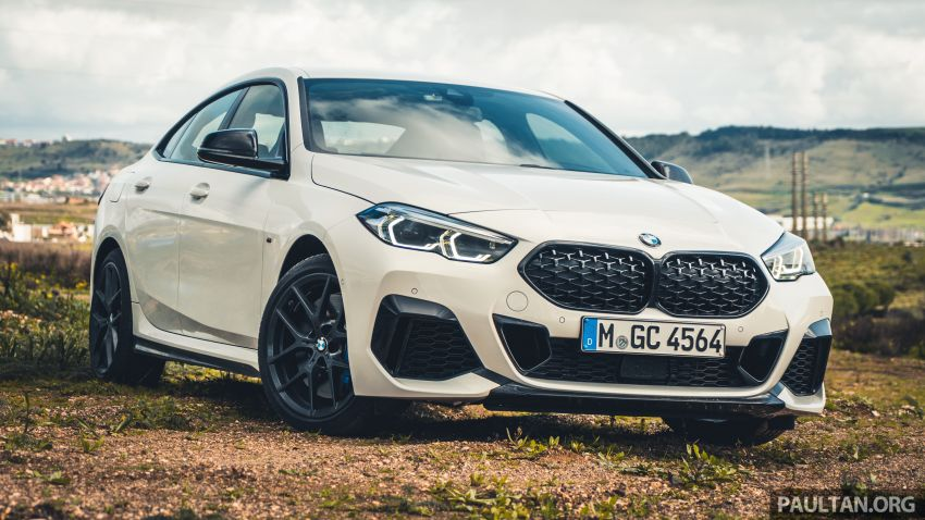 DRIVEN: F44 BMW 2 Series Gran Coupé in Lisbon, 218i and M235i – a slightly compromised bag of good traits Image #1106205