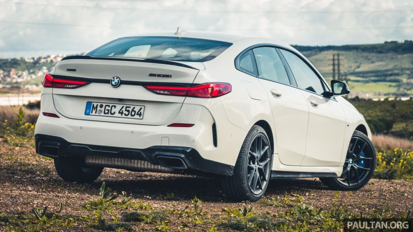 DRIVEN: F44 BMW 2 Series Gran Coupé in Lisbon, 218i and M235i – a slightly compromised bag of good traits Image #1106206