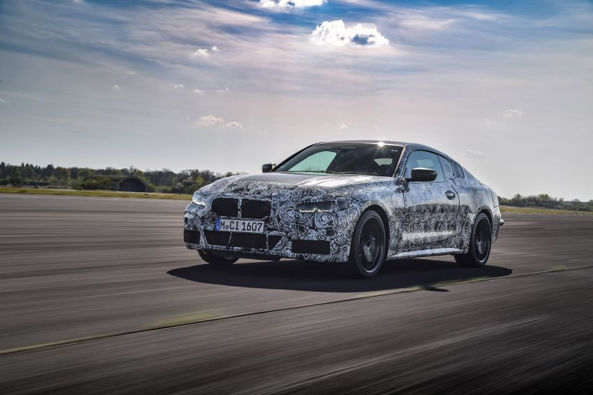 G22 BMW 4 Series Coupe officially teased – M440i xDrive to lead the range with 374 PS, mild hybrid tech Image #1112685