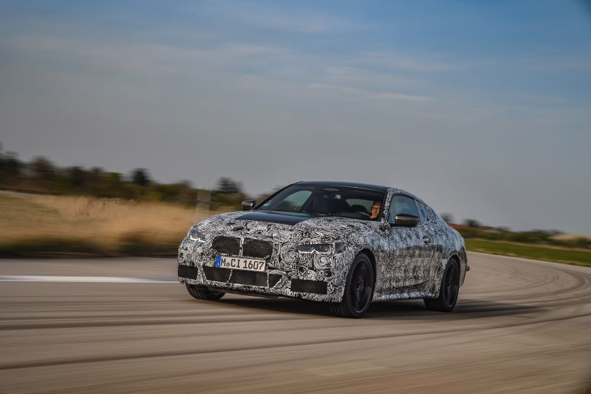 G22 BMW 4 Series Coupe officially teased – M440i xDrive to lead the range with 374 PS, mild hybrid tech Image #1112686