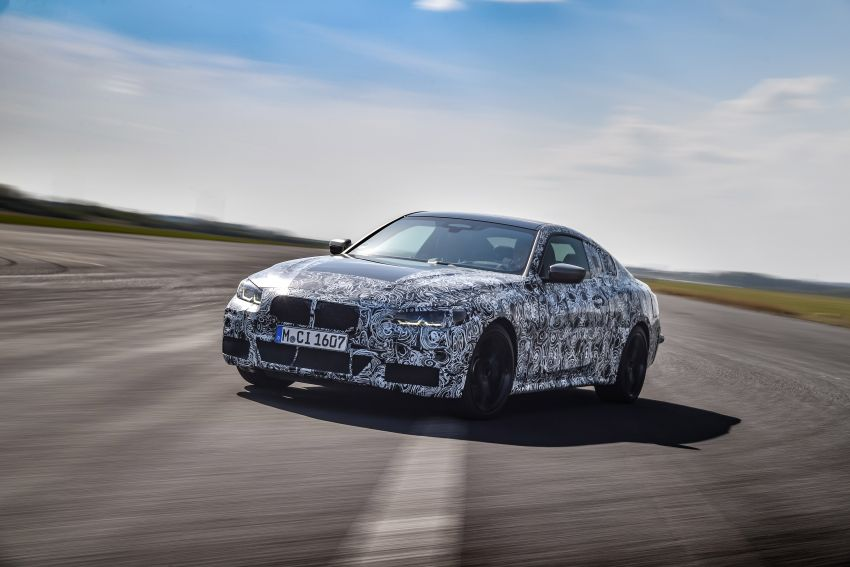 G22 BMW 4 Series Coupe officially teased – M440i xDrive to lead the range with 374 PS, mild hybrid tech Image #1112688
