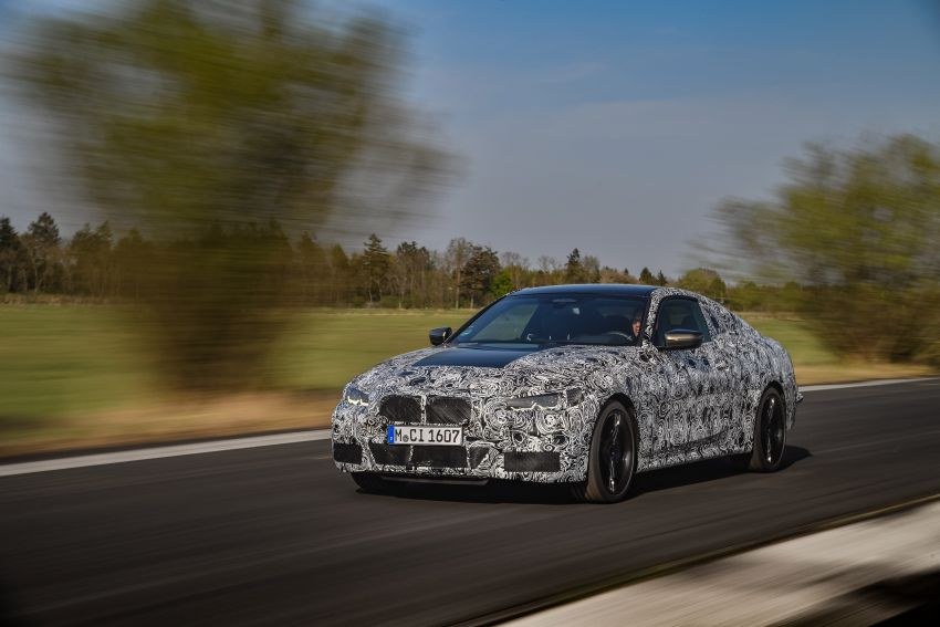 G22 BMW 4 Series Coupe officially teased – M440i xDrive to lead the range with 374 PS, mild hybrid tech Image #1112690