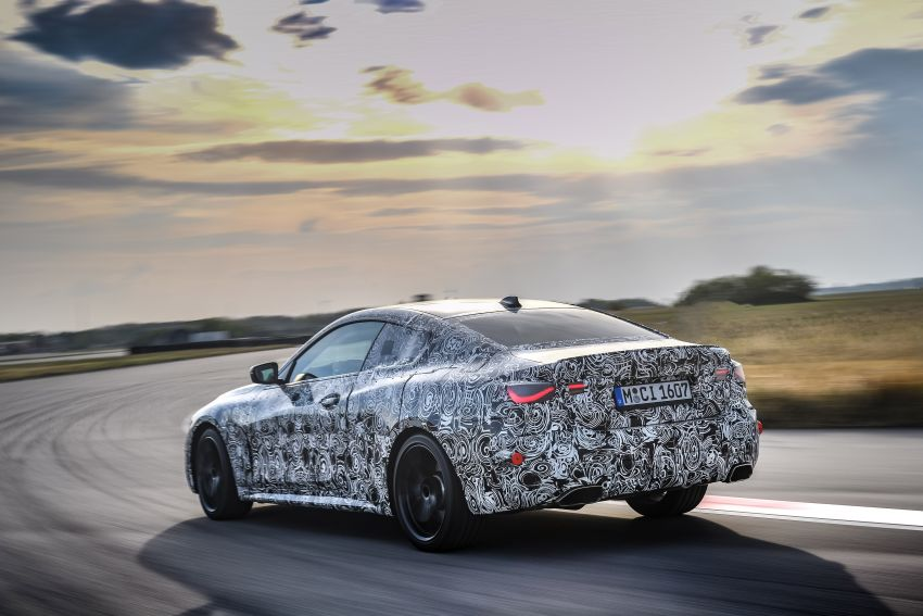 G22 BMW 4 Series Coupe officially teased – M440i xDrive to lead the range with 374 PS, mild hybrid tech Image #1112692