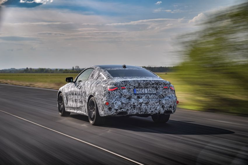 G22 BMW 4 Series Coupe officially teased – M440i xDrive to lead the range with 374 PS, mild hybrid tech Image #1112693