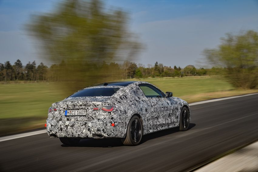 G22 BMW 4 Series Coupe officially teased – M440i xDrive to lead the range with 374 PS, mild hybrid tech Image #1112695