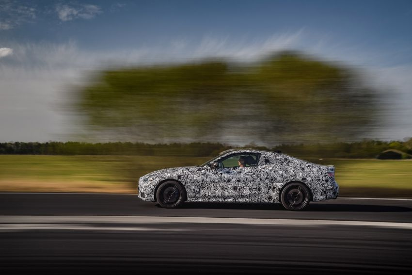 G22 BMW 4 Series Coupe officially teased – M440i xDrive to lead the range with 374 PS, mild hybrid tech Image #1112696