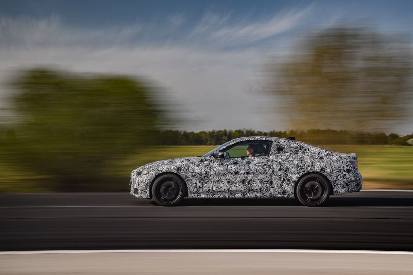 G22 BMW 4 Series Coupe officially teased – M440i xDrive to lead the range with 374 PS, mild hybrid tech Image #1112697