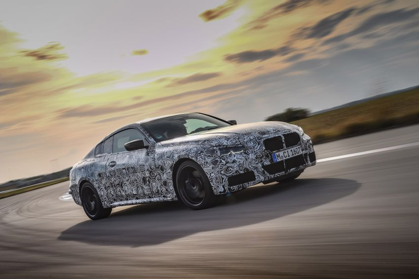 G22 BMW 4 Series Coupe officially teased – M440i xDrive to lead the range with 374 PS, mild hybrid tech Image #1112673