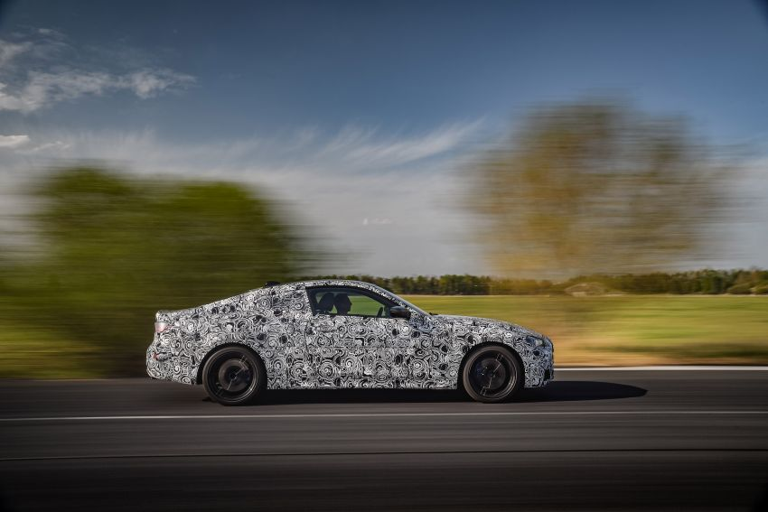 G22 BMW 4 Series Coupe officially teased – M440i xDrive to lead the range with 374 PS, mild hybrid tech Image #1112698