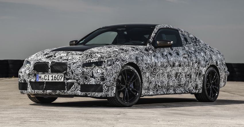 G22 BMW 4 Series Coupe officially teased – M440i xDrive to lead the range with 374 PS, mild hybrid tech Image #1112701