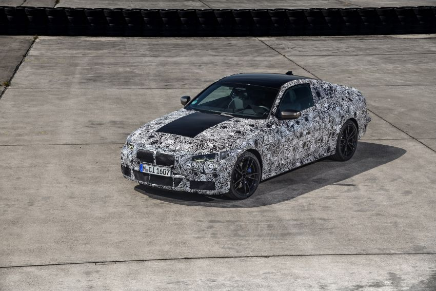 G22 BMW 4 Series Coupe officially teased – M440i xDrive to lead the range with 374 PS, mild hybrid tech Image #1112702
