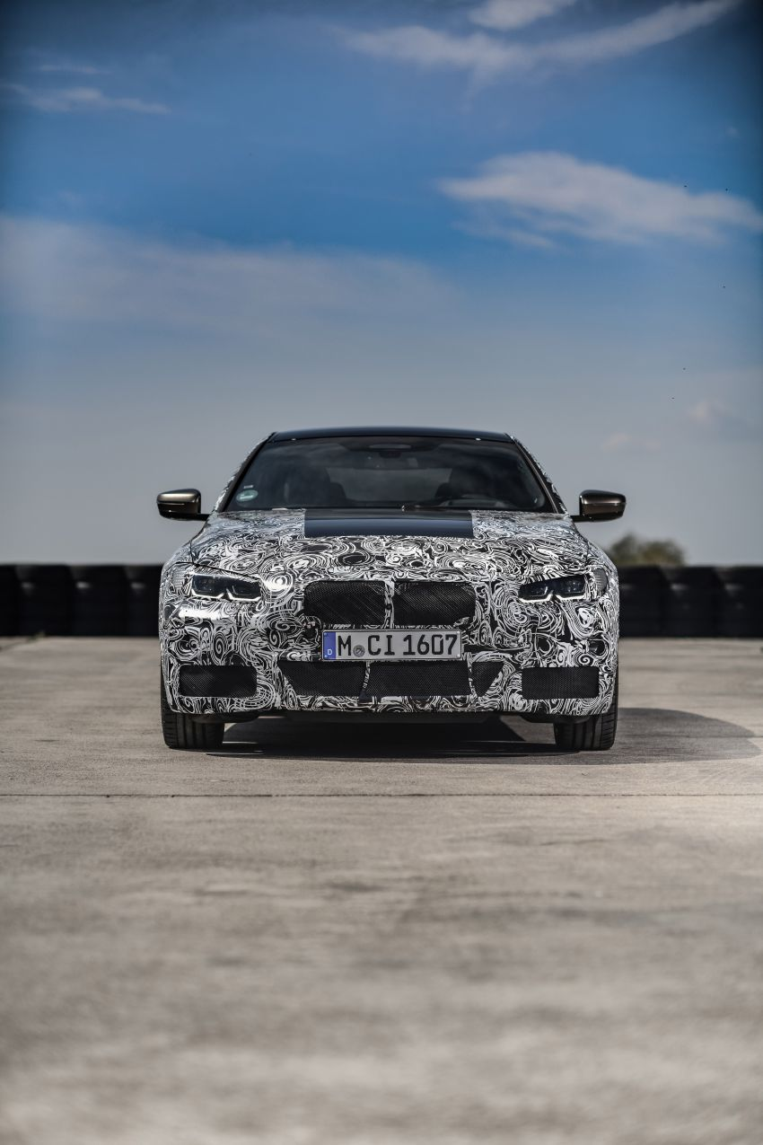 G22 BMW 4 Series Coupe officially teased – M440i xDrive to lead the range with 374 PS, mild hybrid tech Image #1112703