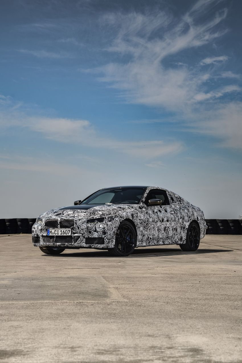 G22 BMW 4 Series Coupe officially teased – M440i xDrive to lead the range with 374 PS, mild hybrid tech Image #1112704