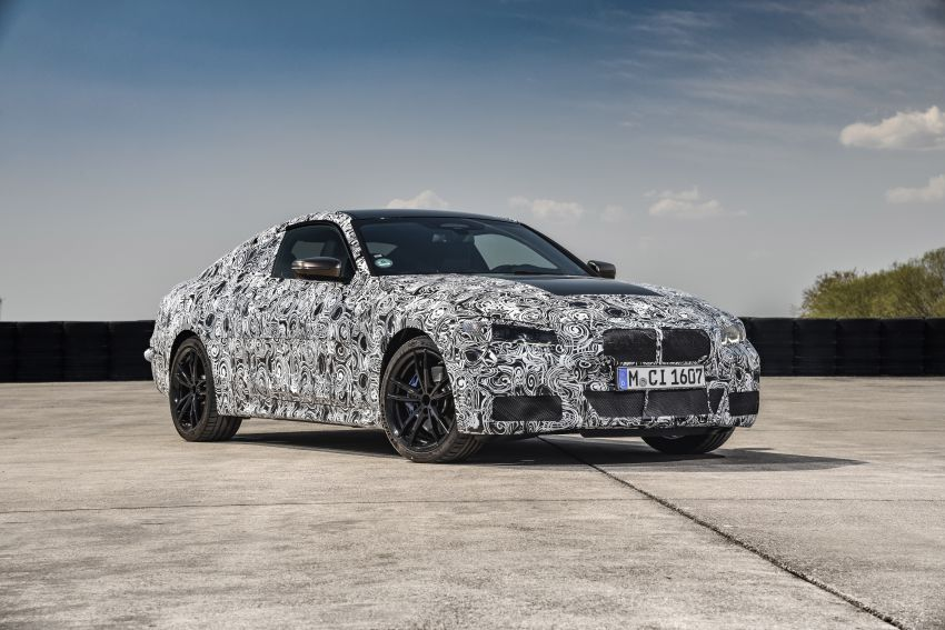G22 BMW 4 Series Coupe officially teased – M440i xDrive to lead the range with 374 PS, mild hybrid tech Image #1112705
