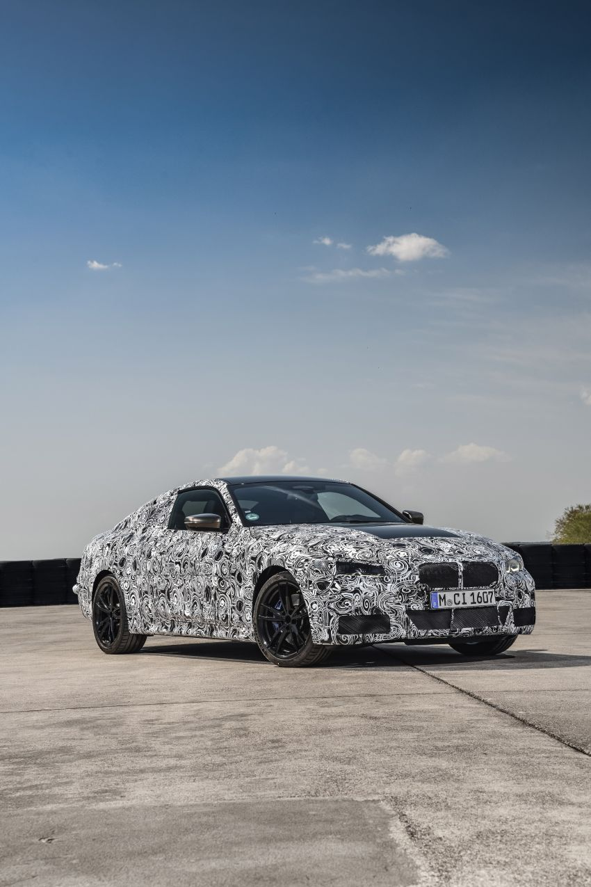 G22 BMW 4 Series Coupe officially teased – M440i xDrive to lead the range with 374 PS, mild hybrid tech Image #1112706