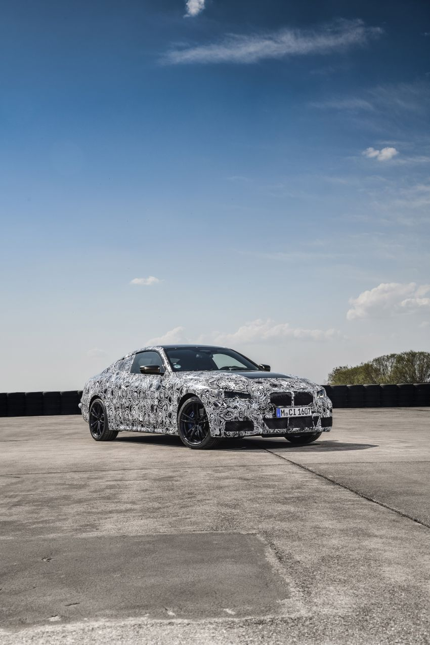 G22 BMW 4 Series Coupe officially teased – M440i xDrive to lead the range with 374 PS, mild hybrid tech Image #1112707