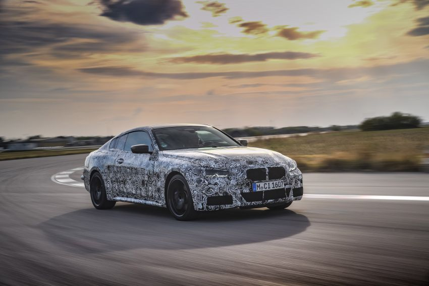 G22 BMW 4 Series Coupe officially teased – M440i xDrive to lead the range with 374 PS, mild hybrid tech Image #1112675