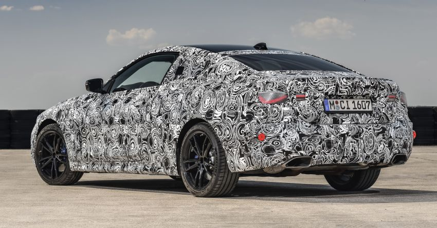 G22 BMW 4 Series Coupe officially teased – M440i xDrive to lead the range with 374 PS, mild hybrid tech Image #1112709