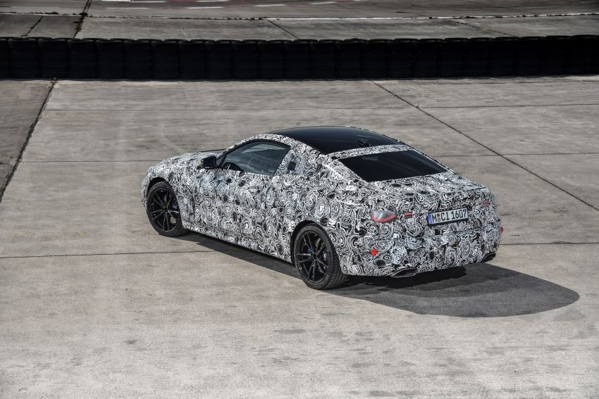 G22 BMW 4 Series Coupe officially teased – M440i xDrive to lead the range with 374 PS, mild hybrid tech Image #1112710