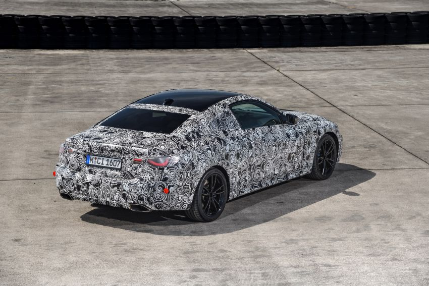 G22 BMW 4 Series Coupe officially teased – M440i xDrive to lead the range with 374 PS, mild hybrid tech Image #1112712