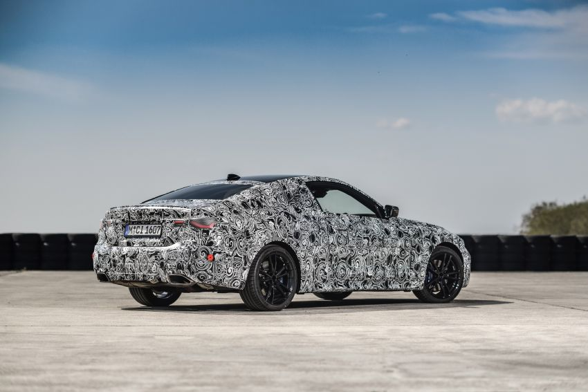 G22 BMW 4 Series Coupe officially teased – M440i xDrive to lead the range with 374 PS, mild hybrid tech Image #1112714